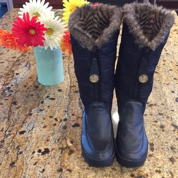 e209ab54c3ad Juicy Couture Shoes - Juicy Couture wedge fur lined Boots